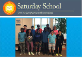We asked our students about their experiences at Saturday School