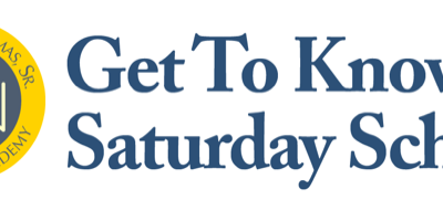 'Get To Know Saturday School' Event – April 21
