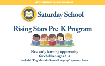 New Pre-K program for select students, ages 3-4 (information in Spanish and Amharic)