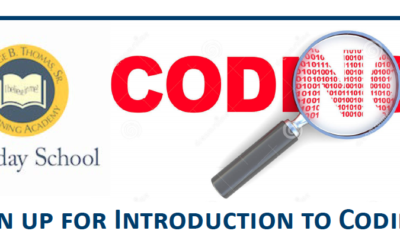 Coding Class (Fall Session) – for Grades 3-5 / Grade 6-8