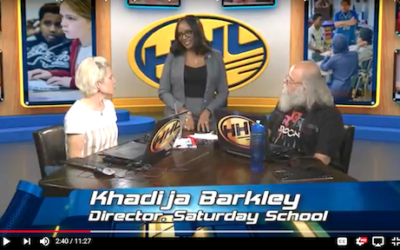 New MCPS video:  Khadija Barkley shares the best about Saturday School