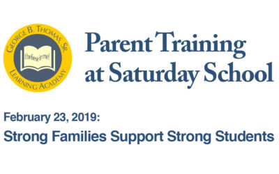 Parent Training:  Strong Families, Strong Students