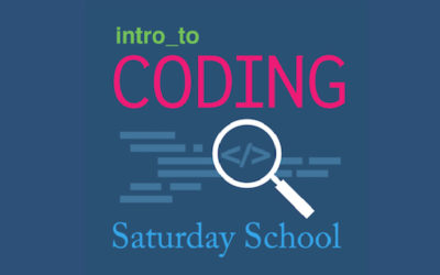 Intro to Coding – Four sessions offered in 2019-2020